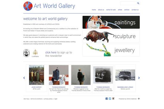 Art World Gallery Falmouth
